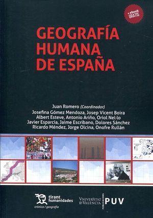 GEOGRAFIA HUMANA DE ESPAÑA