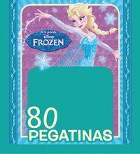 FROZEN: EL REINO DEL HIELO. 80 PEGATINAS DISNEY