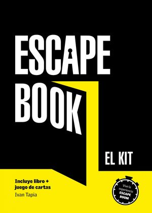 KIT ESCAPE BOOK. (LIBRO + JUEGO DE CARTAS)