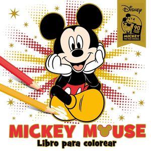 MICKEY MOUSE. LIBRO PARA COLOREAR
