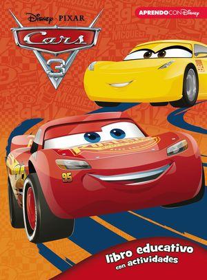 CARS 3. LIBRO EDUCATIVO CON ACTIVIDADES (3 - 5 AÑOS)
