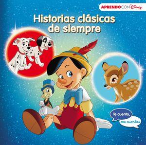 HISTORIAS CLÁSICAS DE SIEMPRE. BAMBI, PINOCHO, 101 DÁLMATAS