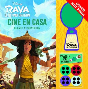 RAYA Y EL ÚLTIMO DRAGÓN. CINE EN CASA. CUENTO Y PROYECTOR