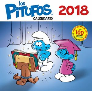 CALENDARIO. LOS PITUFOS 2018