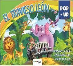 EL TRAVIESO LEON. POP UP