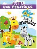 LOS ANIMALES. JUEGA CON PEGATINAS