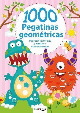 MONSTRUOS 1000 PEGATINAS GEOMETRICAS