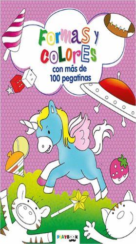 FORMAS Y COLORES CON MÁS DE 100 PEGATINAS