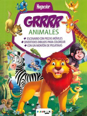 ANIMALES GRRRR MEGACOLOR