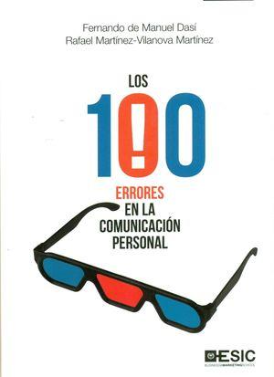 LOS 100 ERRORES EN LA COMUNICACION PERSONAL