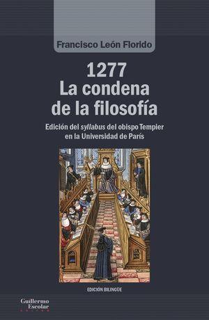 1277 LA CONDENA DE LA FILOSOFÍA