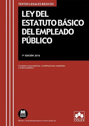 LEY DEL ESTATUTO BÁSICO DEL EMPLEADO PÚBLICO