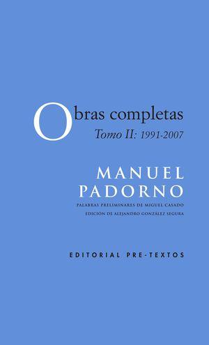 OBRAS COMPLETAS T.II 1991-2007