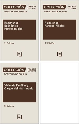 PACK DERECHO DE FAMILIA (3 VOL.)
