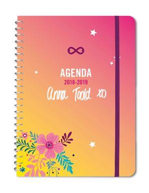 AGENDA 2018-2019 ANNA TODD