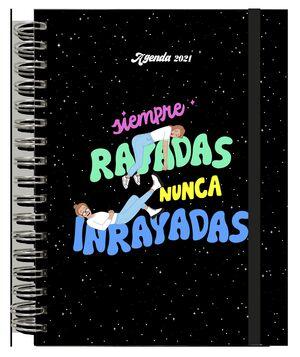 AGENDA  2021 SIEMPRE RAYADAS NUNCA INRAYADAS
