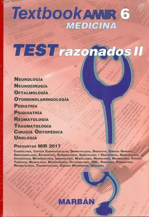 TEXTBOOK AMIR MEDICINA T. 6 TEST RAZONADOS II