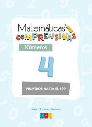 MATEMATICAS COMPRENSIVAS NUMEROS 4 NÚMEROS HASTA EL 199
