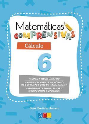 MATEMATICAS COMPRENSIVAS CALCULO 6