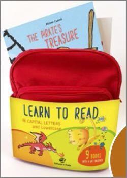 MOCHILA LEARN TO READ (9 TÍTULOS)