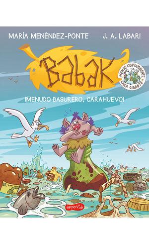 MENUDO BASURERO CARAHUEVO. BABAK 3