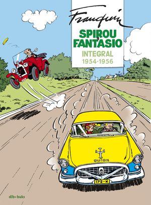 SPIROU Y FANTASIO. INTEGRAL 1954-1956
