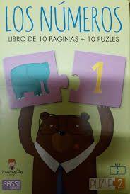 NUMEROS. LIBRO DE 10 PÁGINAS + 10 PUZZLE