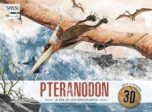 PTERANODON 2020. LA ERA DE LOS DINOSAURIOS - CAJA LIBRO + MAQUETA 3D