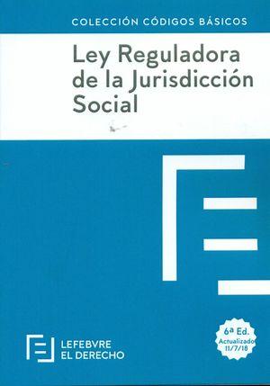 LEY REGULADORA DE LA JURISDICCION SOCIAL