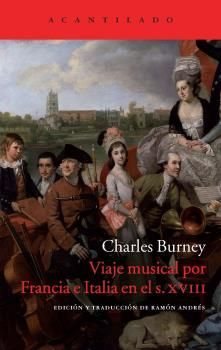 VIAJE MUSICAL POR FRANCIA E ITALIA EN S.XVIII