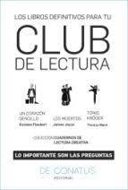 LOS LIBROS DEFINITIVOS PARA TU CLUB DE LECTURA (3 VOL.)