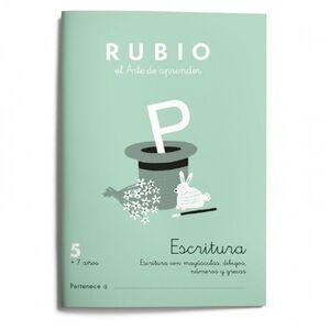 RUBIO ESCRITURA 5 NE 21