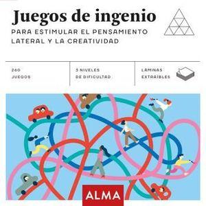 JUEGOS DE INGENIO PARA ESTIMULAR PENSAMIENTO LATERAL CREATIVIDAD