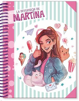 LIBRETA LA DIVERSION DE MARTINA (CUADROS)