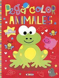 PEGA COLOR ANIMALES