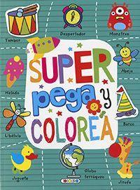 SUPER PEGA Y COLOREA (VERDE)