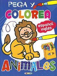 PEGA Y COLOREA. ANIMALES
