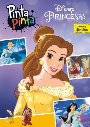 PRINCESAS DISNEY. PINTA PINTA