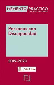 MEMENTO PRACTICO. PERSONAS CON DISCAPACIDAD 2019-2020