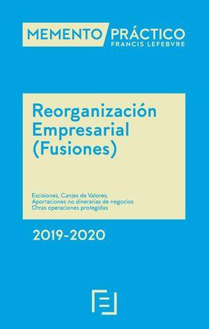 MEMENTO REORGANIZACION EMPRESARIAL (FUSIONES) 2019-2020