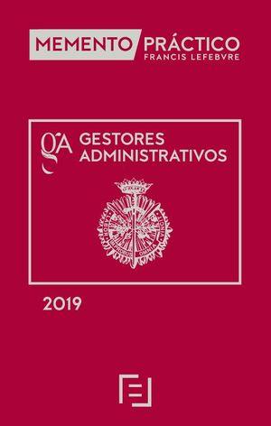 MEMENTO PRACTICO GESTORES ADMINISTRATIVOS 2019