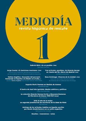 MEDIODÍA 1 REVISTA HISPÁNICA DE RESCATE