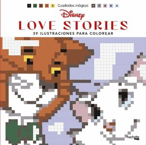 CUADRADOS MÁGICOS - DISNEY LOVE STORIES