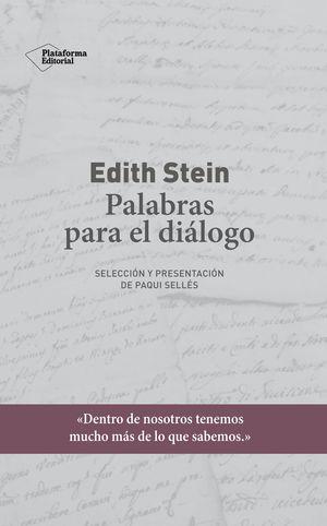 EDITH STEIN PALABRAS PARA EL DIALOGO