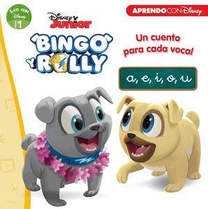 BINGO Y ROLLY. UN CUENTO PARA CADA VOCAL: A, E, I, O, U (LEO CON DISNEY - NIVE 1)