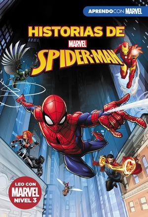 HISTORIAS DE SPIDER-MAN. APRENDO CON MARVEL. LEO CON MARVEL NIVEL 3