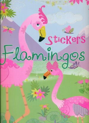 STICKERS FLAMINGOS 2