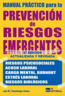 MANUAL PRÁCTICO PARA LA PREVENCIÓN DE RIEGOS EMERGENTES