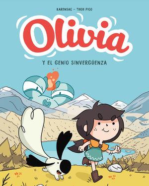 OLIVIA Y EL GENIO SINVERGÜENZA (OLIVIA 1)