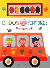 DEDOS PINTORES. EL AUTOBÚS. PREESCOLAR